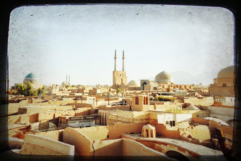 بافت تاریخی یزد از نگاه سفرنامه نویسان خارجی
